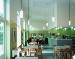 Ruthin Crafts Centre cafe